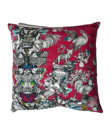 Take a look at this Red Birds Cushion by Cygnus Papilio on #zulily today!