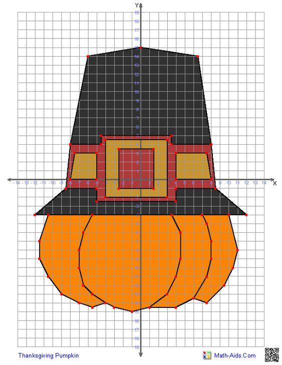 Thanksgiving Pumpkin Math Aid Com Pinterest Shape