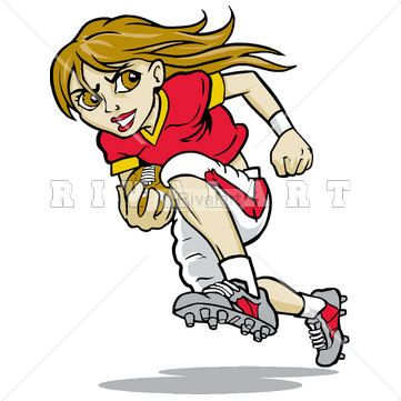 Sports Clipart Image of Football Pile Up Graphic | Football Clip ...
