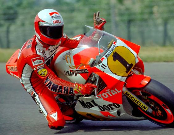 Racing Cafè: Photo #504 - Eddie Lawson 1985