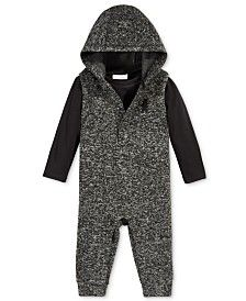 First Impressions Baby Boys' 2-Pc. T-Shirt & Hooded Coverall Set, Only at Macy's