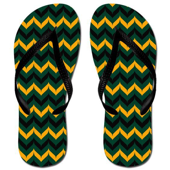 Wholesale Women's Katydid Chevron Whale Tale Fashion Flip Flops