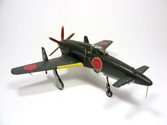 1:72 J7W Shinden I by Zero-Cannard.deviantart.com on @deviantART