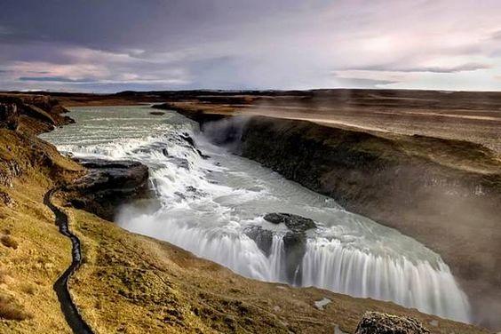 cataratas-6 Gullfoss, Islandia