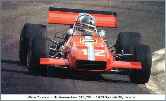 Piers Courage, Jarama 1970, De Tomaso 505