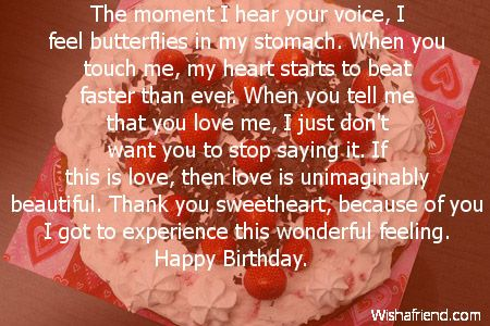Love Quotes For Him On His Bday : happy birthday love quotes for boyfriend - Google Search Quotes for ...