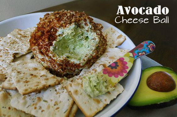 Great Avocado Cheese Ball recipe!