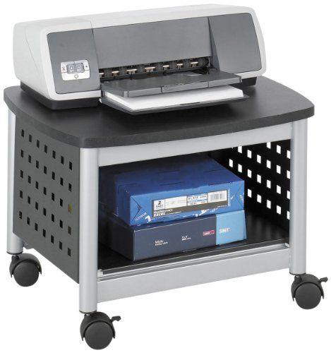 "Safco Products Scoot Underdesk Printer Stand, 14-1/2"" High, Black/Silver, 1855BL Safco http://www.amazon.com/dp/B0035540FI/ref=cm_sw_r_pi_dp_5r8Ytb0EGCVDZDBC"