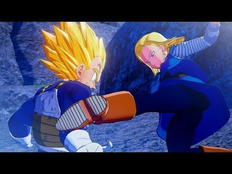 Dragon Ball Z Kakarot Android 18 Breaks Vegeta S Arm Super Saiyan Vegeta Vs Dragon Ball Z Kakarot A Super Saiyan Vegeta Dragon Ball Dragon Ball Z