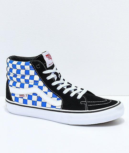 Vans Sk8-Hi Pro Victoria Blue, Black