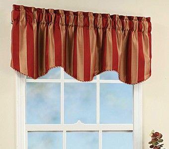 Curtains Ideas bathroom valance curtains : Bathroom Valances for Small Windows | Curtain & Bath Outlet ...