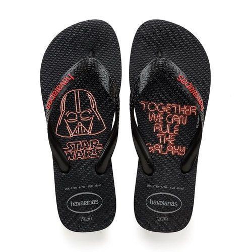 Darth Vader flip flops by Havaianas