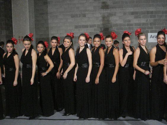 A equipe Feminina