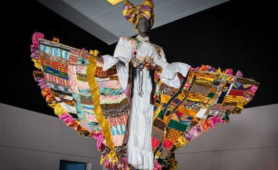 west african textile heritage Carnival dress