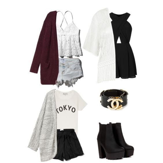 Cardigans*_* by beata-stasch1d on Polyvore featuring Abercrombie & Fitch…