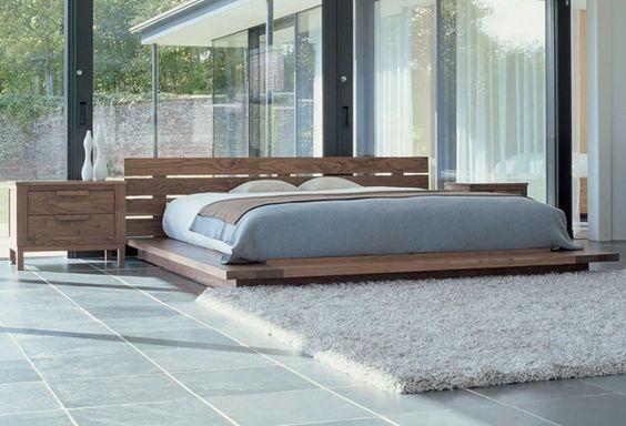 QUARTO DE CASAL COM CAMA DE TATAME Japanese style bed Japanese