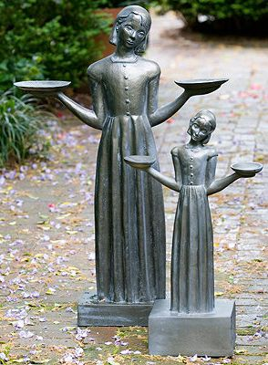 Statue Good And Evil And Birds On Pinterest