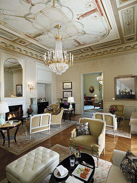 Shangri-La Hotel Paris : Lounge • Ma Sérendipité
