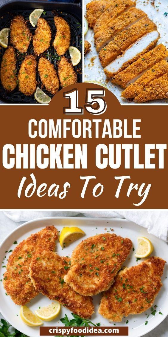 chicken cutlet recipes