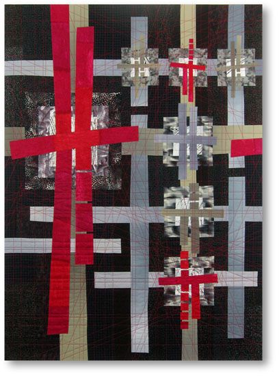 Liz Kuny, contemporary quilt artist - her quilts are fabulous!