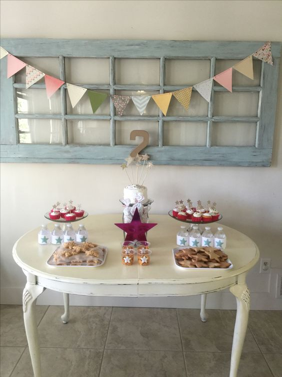 Star theme birthday party