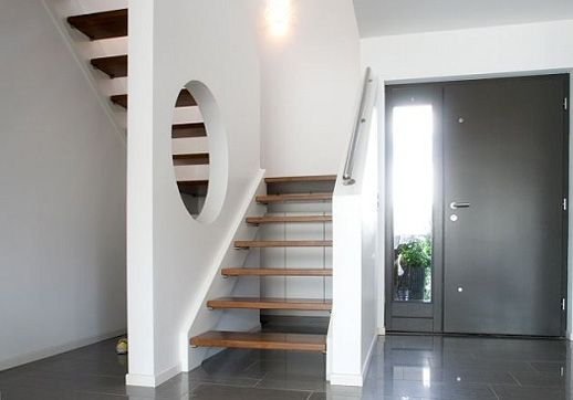 eingangst ren haus and eingang on pinterest. Black Bedroom Furniture Sets. Home Design Ideas