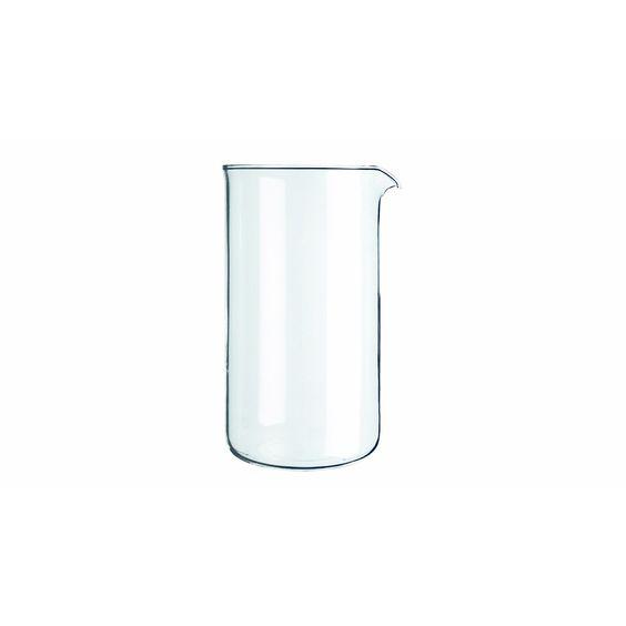 8-Cup Universal French Press Glass Beaker for Bodum & More 34 Oz. Borosilicate Glass Beaker