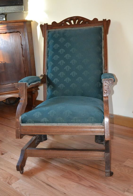 Platform Rocker Vintage Victorian PanchosPorch  Rocking chairs ...