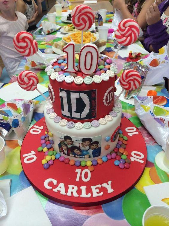 1Direction cake