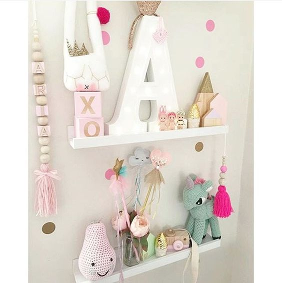 """""""Gorgeous pair of #shelfies to start your Saturday morning off, featuring our large glitter tip and pastel houses! Available now on the website, link in…"""""""