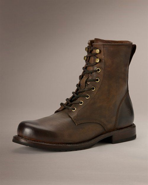 Pin By Jake Glaittli On Boots Brown Combat Boots Combat Boots Men Handmade Leather Boots