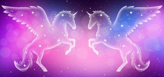 Twin Star Unicorns Galaxy Background Galaxy Background Unicorn Wallpaper Cute Rainbow Color Background Galaxy unicorn wallpaper for computer