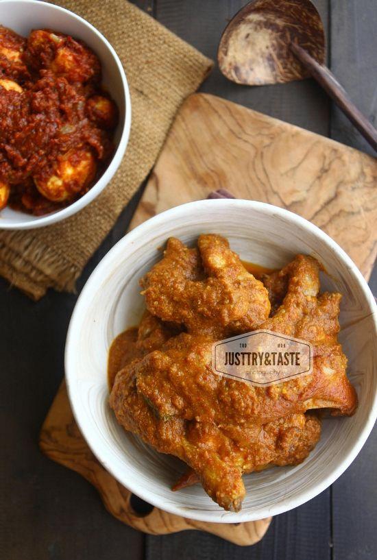 Resep Ayam Kapitan Jtt Resep Ayam Resep Masakan Resep Masakan Malaysia