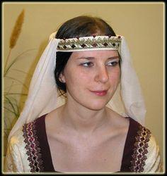 Eine unverheiratete Adelige mit Schleier