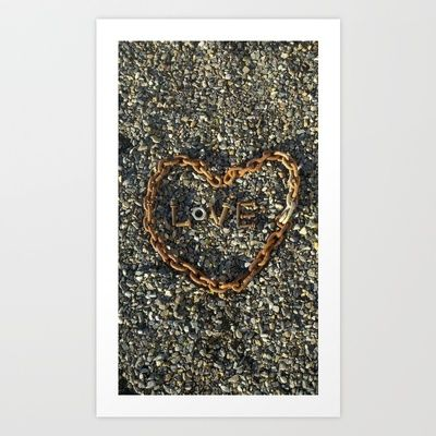 love Art Print by countryeverafter - $15.00