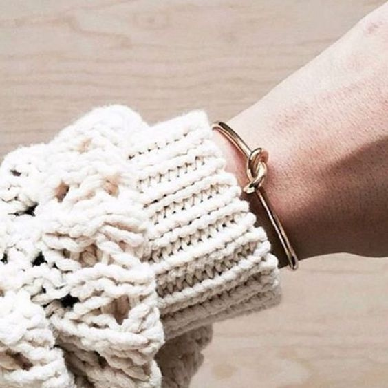 bracelete nó ouro - Moda à la carte - cool stuff