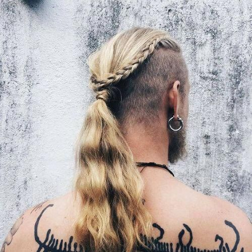 Viking Hairstyles Are Edgy Rugged And Cool Inspired By Historic Nordic Warriors The Viking Haircut Encompasses Many D Viking Hair Hair Styles Viking Haircut