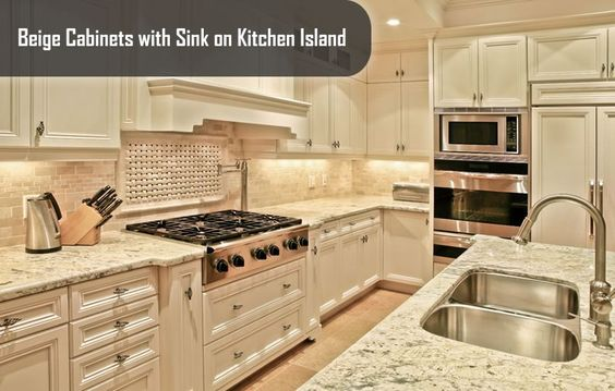 Beige kitchen and Beige Kitchen Cabinets Kitchens are where many of us