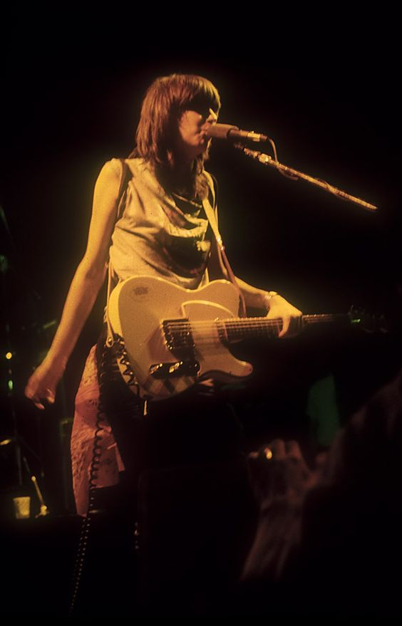 The Pretenders at the Tampa Theater, March 1980.