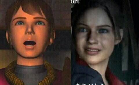 Claire Redfield Then And Now With Images Resident Evil Leon