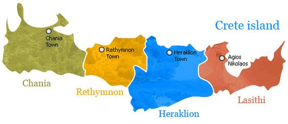 crete map - rethymno map