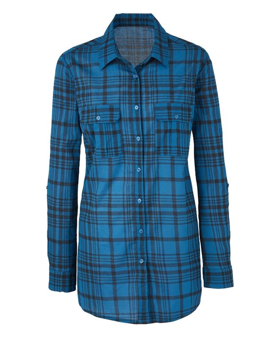 Check Boyfriend Shirt at Simply Be
