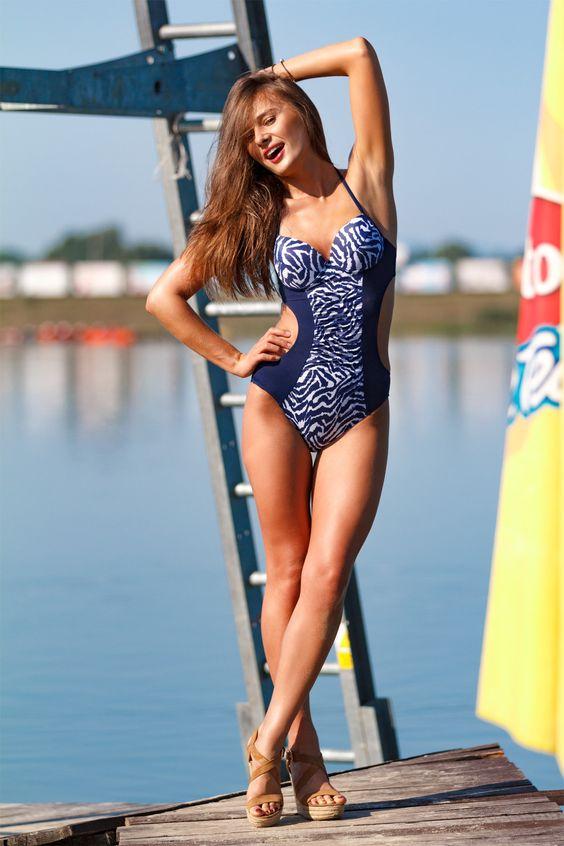Swimsuit one piece model 43656 Marko