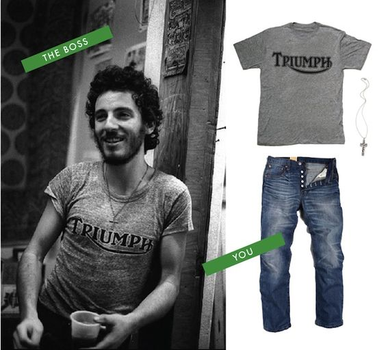 Style Icon: Bruce Springsteen