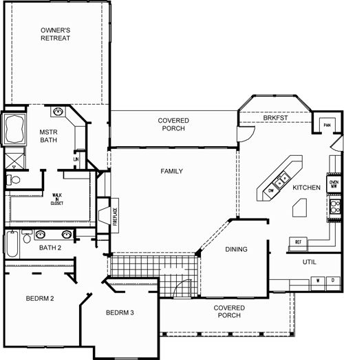 David weekley homes floor plans texas house design plans for Texas house floor plans