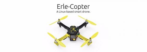 Erle-Copter, a Linux drone with support for ther Robot Operating System