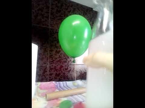 Como Inflar Balao Sem Gas Helio Experimento Parte 1 Youtube