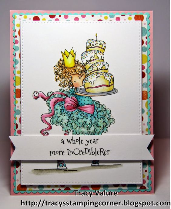 Tracy's Stamping Corner: A year more Incredibler!