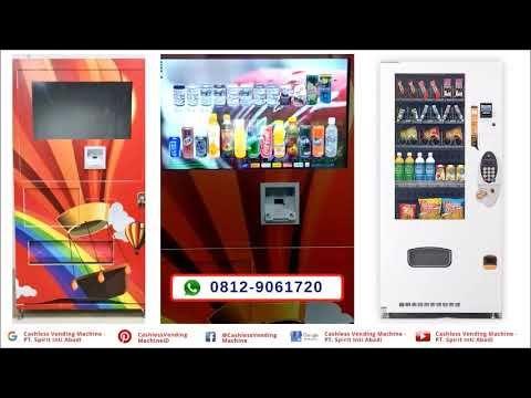 New Cashless Payment System Vending Machine In Indonesia Qr Code Emone Di 2020 Kartu Kredit Kartu