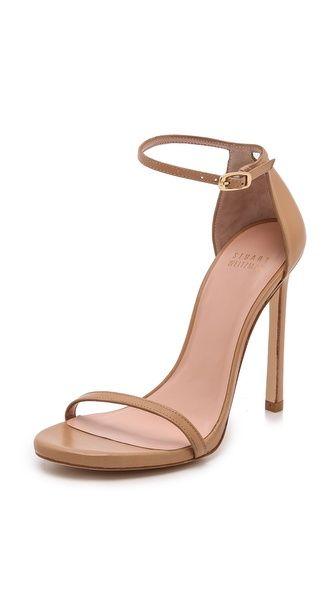 nude sandals | Stuart Weitzman:
